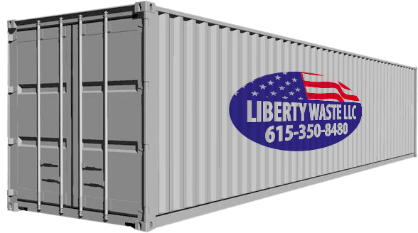 40 ft Portable Storage Container used as Shipping Container, Construction Storage Container, Conex Storage Container, or Mobile Storage Unit Nashville TN